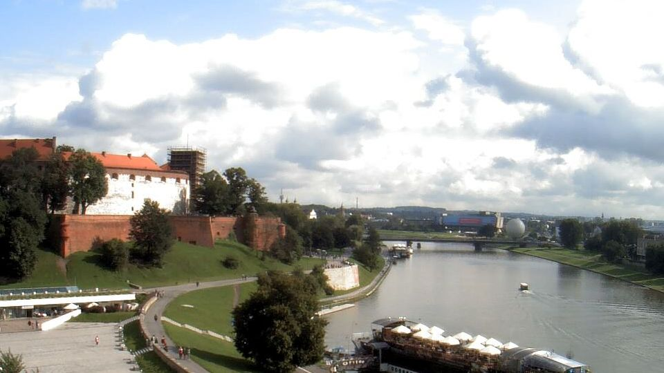 Wake up in front of Wawel Castle and experience the magic of Krakow.